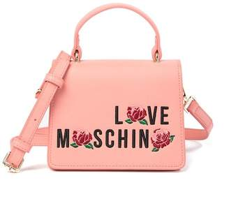 Love Moschino Small Brand Logo Convertible Shoulder Bag