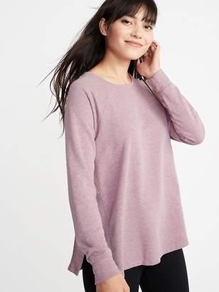 Old Navy Maternity French Terry Side-Slit Nursing Sweatshirt