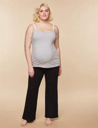 Motherhood Maternity Plus Size Secret Fit Belly Boot Cut Maternity Yoga Pants