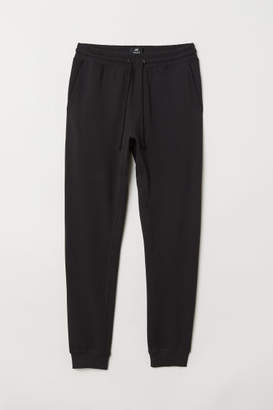 H&M Tapered fit Joggers - Black
