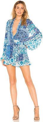 Rococo Sand Labyrinth Mini Dress