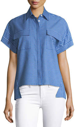 Novis The Sandisfield Drop-Shoulder Blouse
