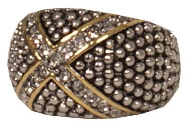 Silver Studded Ring