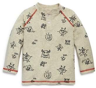 Mini Series Boys' Monster-Print Henley Shirt, Little Kid - 100% Exclusive