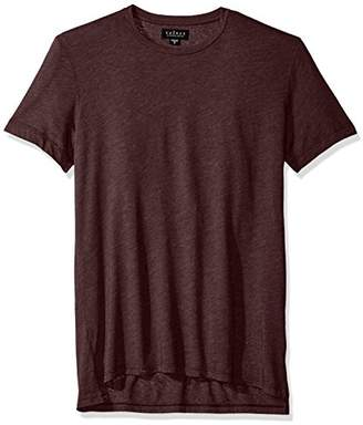 Velvet by Graham & Spencer Men's Zealand Heather Jersey Short Sleeve Crew