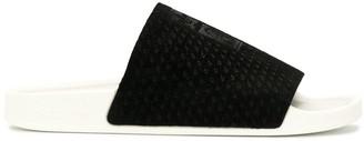 adidas logo patch slides