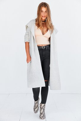 Kimchi Blue Bleeker Hooded Longline Sweater Coat $89 thestylecure.com