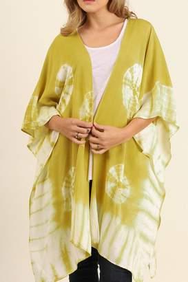 Umgee USA Tie-Dye Handkerchief Kimono