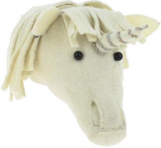Fiona Walker Designs Kids' Mini Unicorn Head Wall Décor