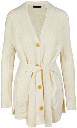 Proenza Schouler Wool cardigan dress