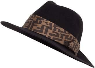 Fendi FF logo hat