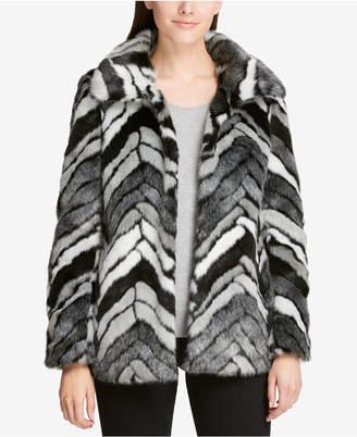 DKNY Faux-Fur Coat