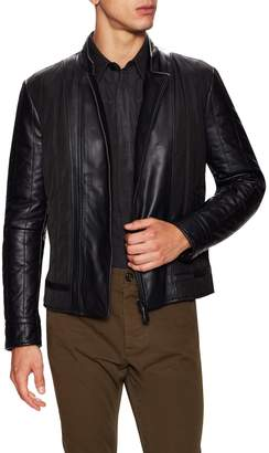 Fendi Men's Quilted Leather Jacket