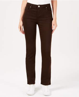 Lee Platinum Petite Stretch Slim-Fit Pants