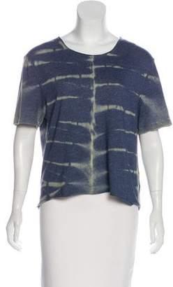 Raquel Allegra Tie-Dye Short Sleeve Top