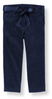 Janie and Jack Belted Corduroy Pant