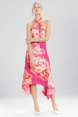 Natori Josie Peony Halter Dress