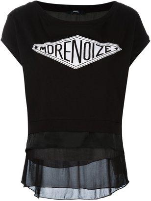 Diesel 'morenoize' print T-shirt $135.06 thestylecure.com