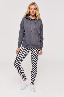 Ardene Shiny Checkered Leggings