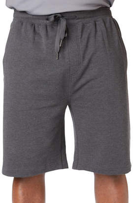PAUL GRAY Big and Tall Athleisure Sweat Shorts