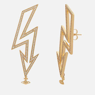 Vivienne Westwood Women's Isadora Earrings - White Cubic Zirconia