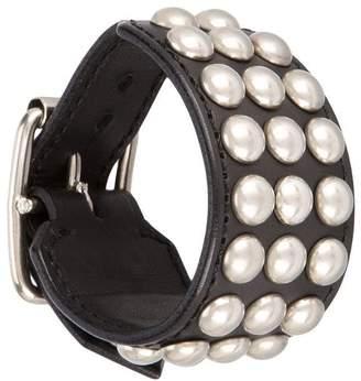 Blackmeans Black Means studded bracelet