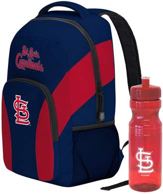 DAY Birger et Mikkelsen St. Louis Cardinals Draft Backpack with 24-Ounce Pull-Cap Water Bottle by Northwest