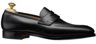 Crockett Jones Crockett & Jones Crockett and Jones Sydney Penny Loafer Single Dainite Sole in Black