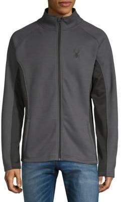 Spyder Colorblock Full-Zip Sweater