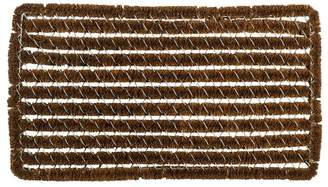Williams-Sonoma Rectangle Stripes Wire Brush Doormat
