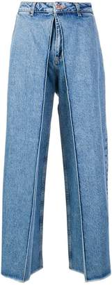 Aalto cropped palazzo jeans