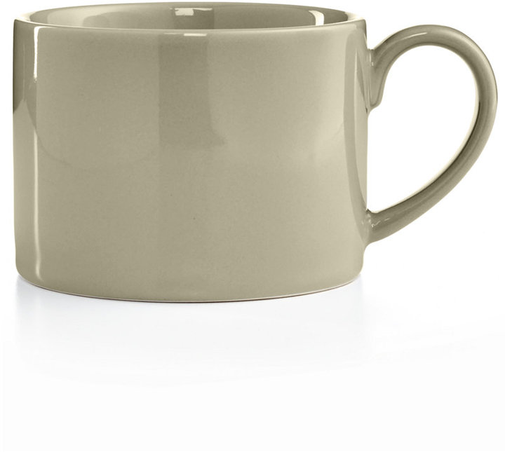 Martha Stewart Collection Harlow Oyster Shell Low Can Mug