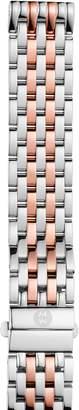 Michele Deco Madison 16mm Two-Tone Bracelet Watchband