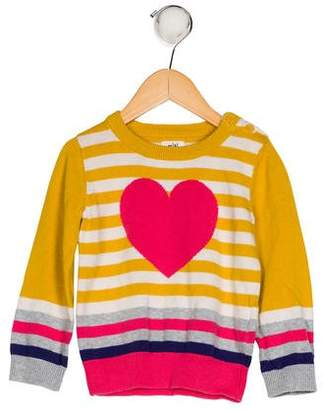 Hannah Anderson Girls' Intarsia Knit Sweater
