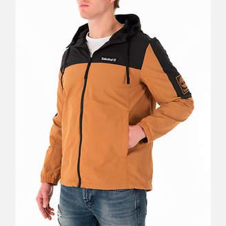 Timberland Men's SLS Wind Hooded Jacket