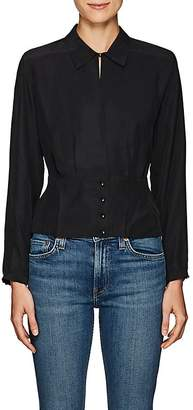 J Brand Women's Lindsey Silk Blouse