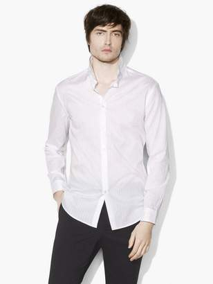 John Varvatos Wire-Collar Shirt