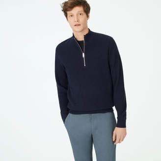 Club Monaco Cashmere Quarter-Zip Sweater