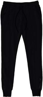 Cotton Citizen Women's Milan Jogger with Ankle Zippers - Jet Black