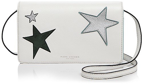 Marc Jacobs MARC JACOBS Star Patchwork Wallet Crossbody