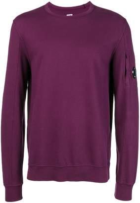C.P. Company button detail sweatshirt