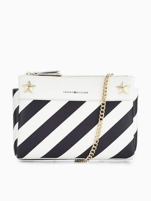 Tommy Hilfiger Star Stripe Crossbody Bag - Navy