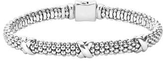 Lagos 'Signature Caviar' Mini Oval Rope Bracelet