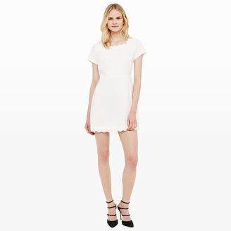 Avaline Scalloped Dress $198.50 thestylecure.com