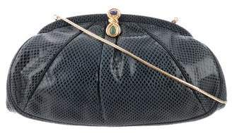 Judith Leiber Lizard Embellished Evening Bag