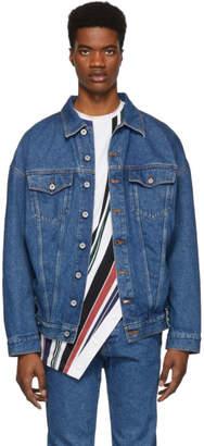 Diesel Red Tag Blue Glenn Martens Edition Denim Jacket