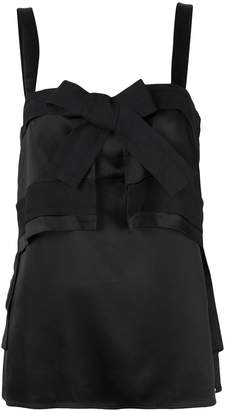 3.1 Phillip Lim bow front tank top