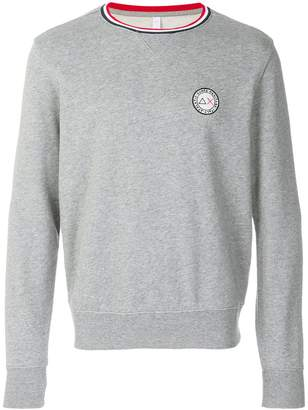 Sun 68 logo patch sweatshirt
