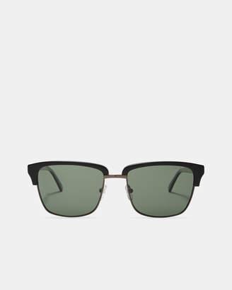 Ted Baker CLUBBLK Half-rim sunglasses