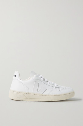 Veja V-10 Leather Sneakers
